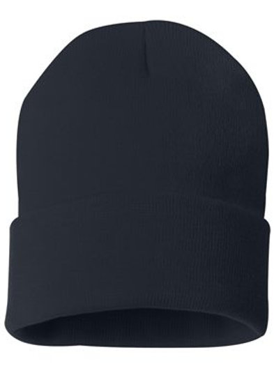 Marion Fire Navy Stocking Hat