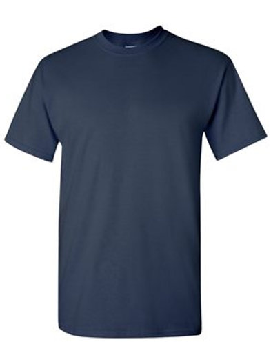 Gildan Navy Short Sleeve T-Shirt