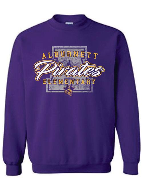 Alburnett Elementary Crewneck Sweatshirt
