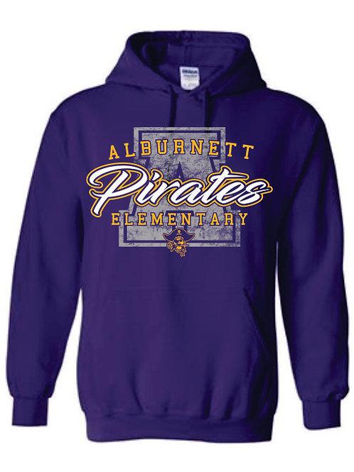 Alburnett Elementary Hooded Sweatshirt