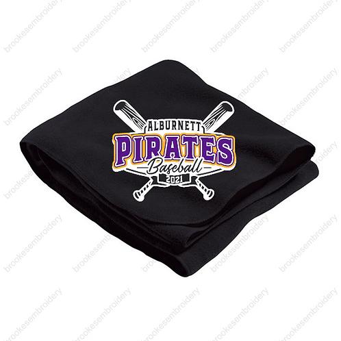 Pirates 2021 Sweatshirt Blanket Purple or Black