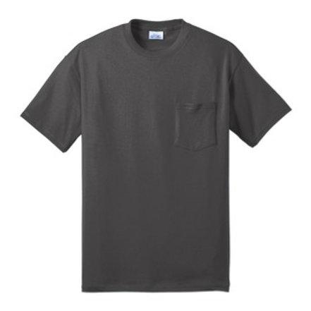 Pocketed Port and Company Short Sleeve Tshirt