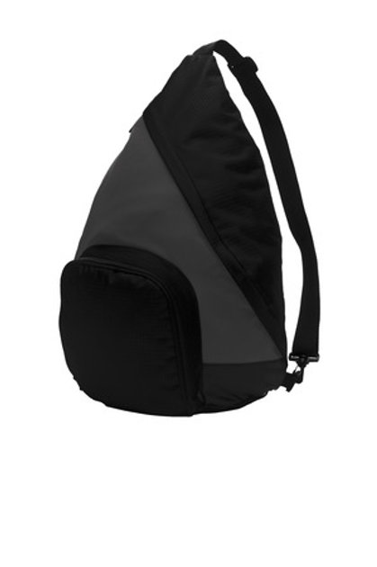 Port Authority Sling Pack with CRAG Glitter design