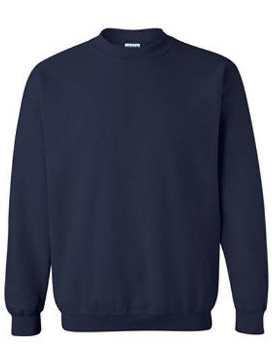 Gildan Navy Brave Like Benny Crewneck Sweatshirt