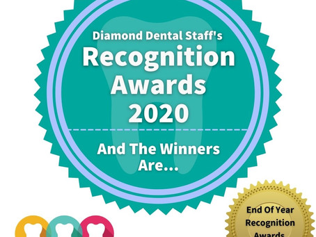 Winners Announced!                        End of Year Recognition Awards 2020