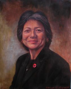 Ms. V, Oil on Linen, Leah Griffith Boyce