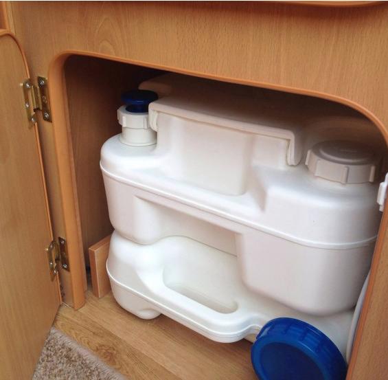 Go-Pod - toilet cupboard