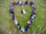 Wedding Heart Aerial Photography