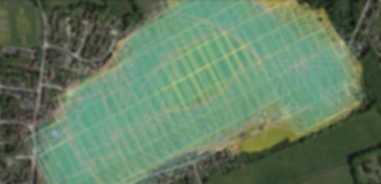 Photo Stitching on 2D Orthomosaic Map