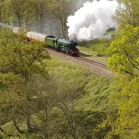 Sream Trains in the UK