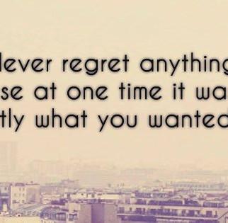Les 10 raisons pour ne jamais regretter une décision