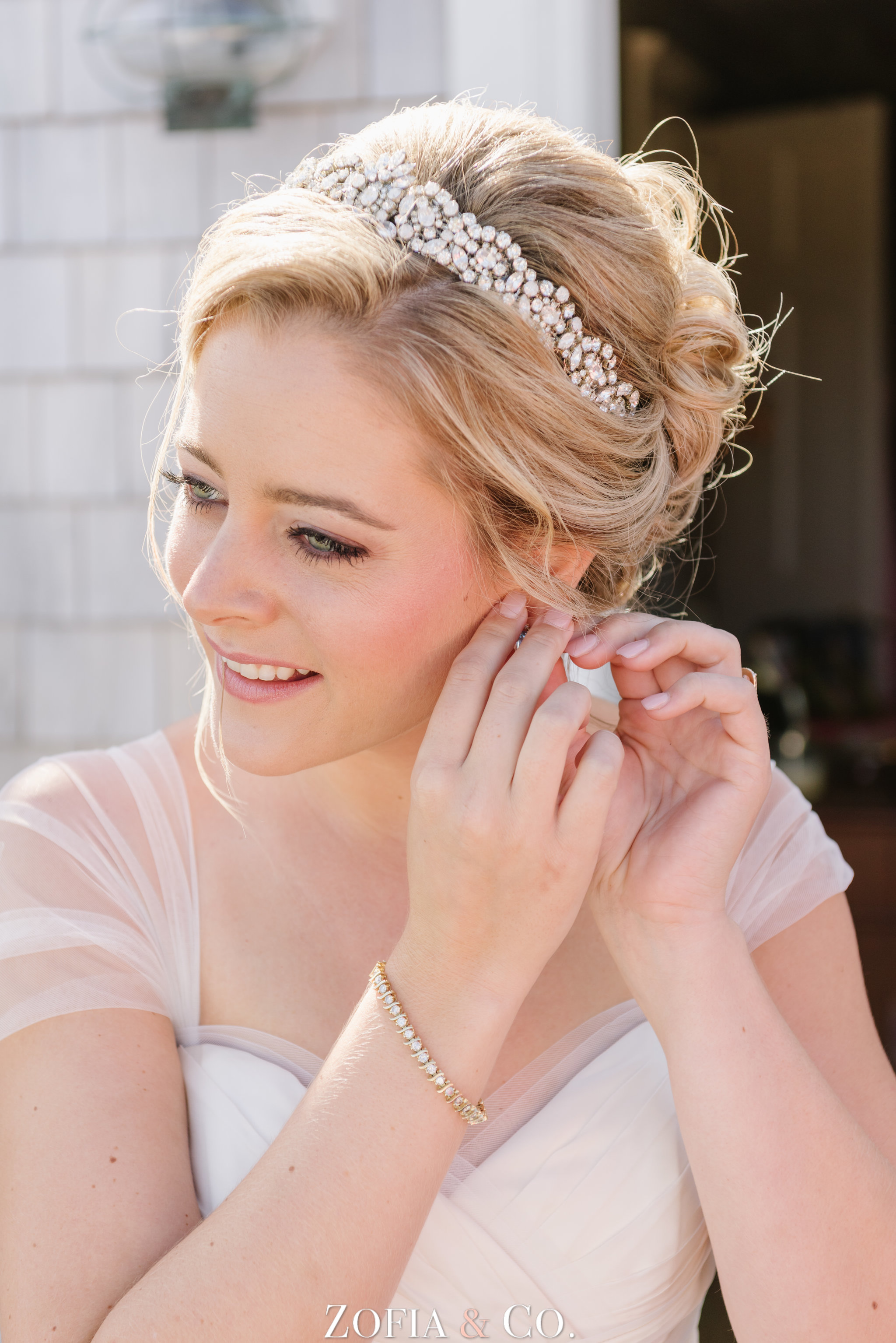 Wedding make up Nantucket make-up