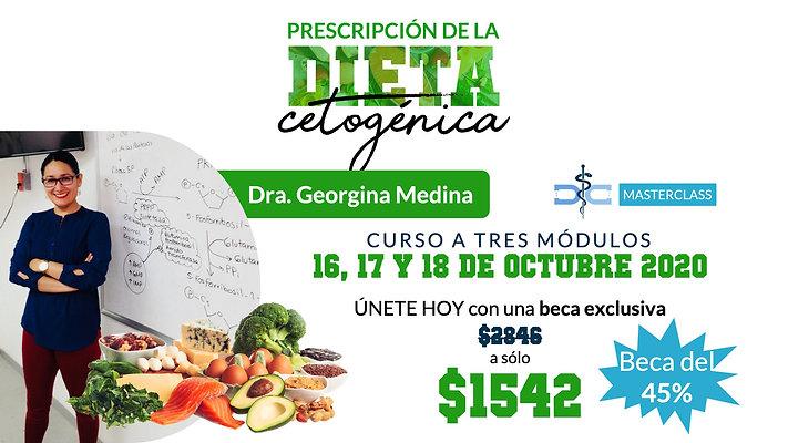 Prescripción de la Dieta Cetogénica + 100 Minutos Extra + Beca del 45%