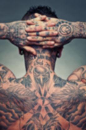 Ganzkörper-Tattoo
