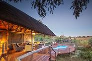 Aussicht vom Rra Dinare Camp in Botswana.