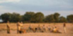 Blick vom Luambe Camp in Sambia in die weite Ebene des Luambe Nationalparks.
