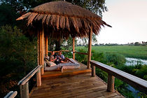 Botswana Safari Lodge, Unterkunft Botswana, Kleingruppen, Flugsafaris, Naturreisen, Exklusivreisen, Wilderness Safaris, Jao Camp, Okavangodelta, Botswana