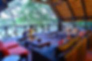 Die herrliche Inchongo Lodge direkt am Chobe River.