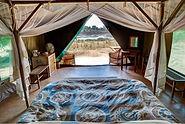 Safarizelt im Flatdogs Camp.