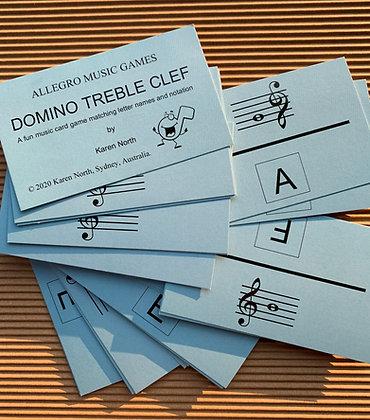 Domino Treble Clef card game (Digital Download)