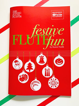 Festive Flute Fun - 8.5 x 11 (Digital Download)