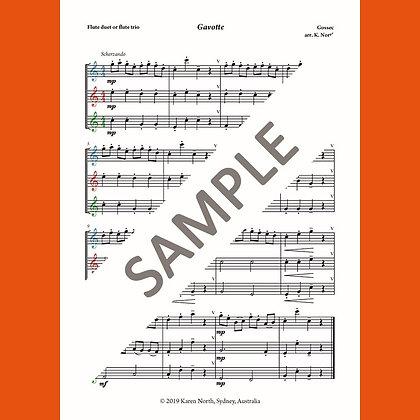 Gavotte by Gossec (Digital Download)