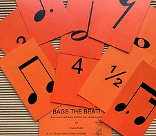 Bags the Beat! by Karen North