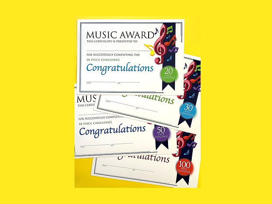 Music Certificate Challenge Bundle (CLASS Licence Digital Download)