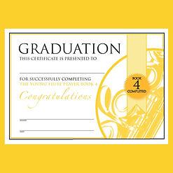 Graduation The Young Flute Player Book 4