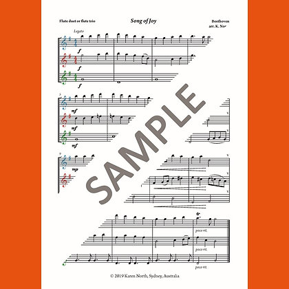 Song of Joy (Digital Download)