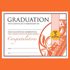 Graduation The Young Flute Player Bk 5.J