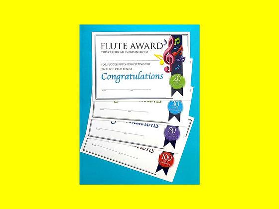 Flute Certificate Challenge Bundle (CLASS Licence Digital Download)