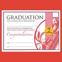Graduation The Young Flute Player Bk 2.J