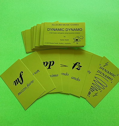 Dynamic Dynamo card game (Digital Download)