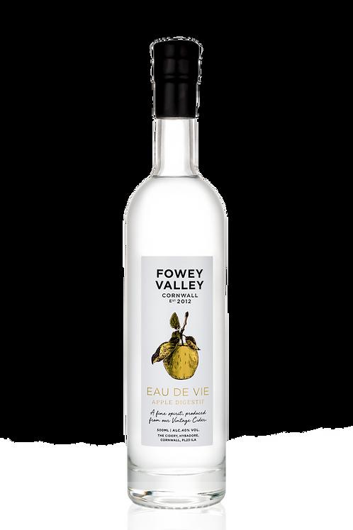 500ml bottle of Fowey Valley Eau de Vie