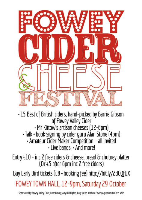 The very first Fowey Cider Festival