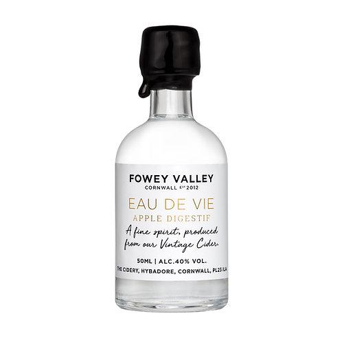 50ml bottle of Fowey Valley Eau de Vie