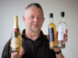 Master cidermaker Barrie Gibson