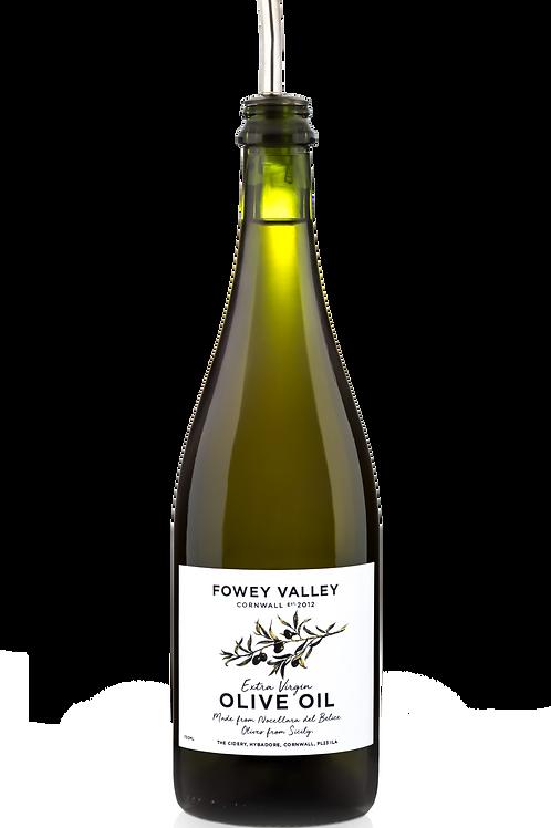 750ml bottle of Extra virgin olive oil