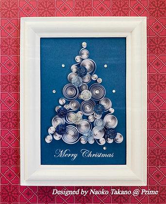 ホワイトクリスマスツリー ☆