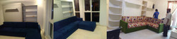 MURPHY BED with L SHAPED SOFA