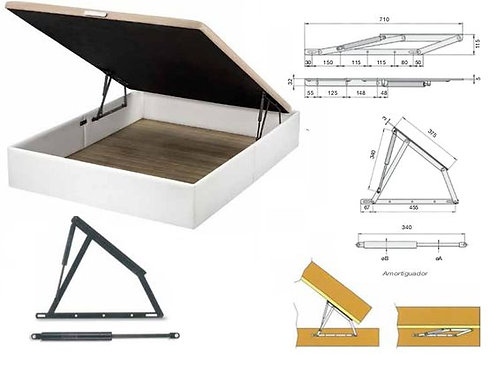 Hydraulic Bed Lift Mechanism / Hardware