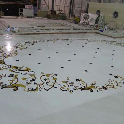Private Villa Dubai Marble Floor