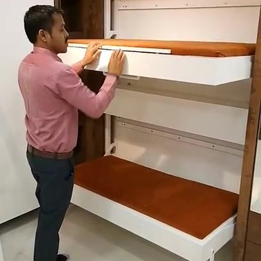 wall mount bunk bed.mp4
