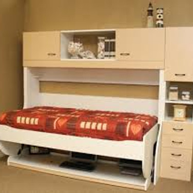 Single Study Bed with Desk