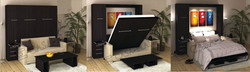 Murphy Wall Bed Small Movable Sofa