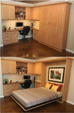 OFFICE + GUEST ROOM MURPHY BED