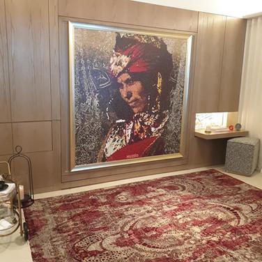 Hotel room murphy wall bed by CASA-ELAN