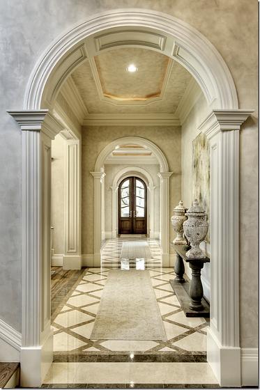 Classic Style Villa CASA-ELAN Interior Design Dubai Luxury Homes Emirates Hills