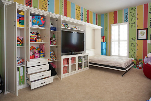 Boys Bedroom Design Murphy Wall Folding Bed